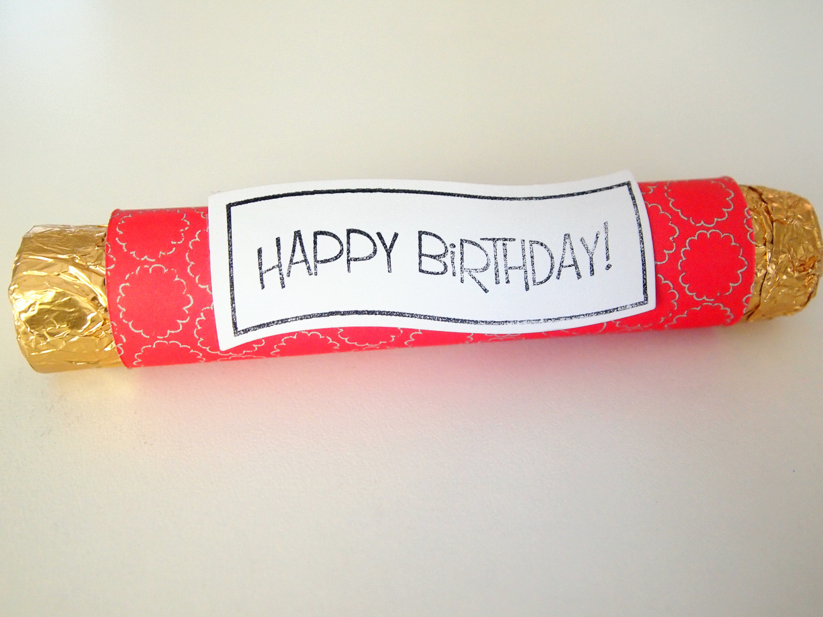 Birthday Rolos